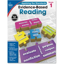 CDP 104830 Carson Grade 1 Evidence-Based Reading Workbook CDP104830