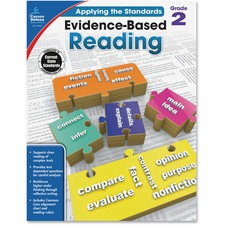 CDP 104831 Carson Grade 2 Evidence-Based Reading Workbook CDP104831