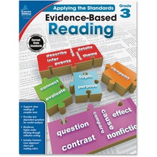 CDP 104832 Carson Grade 3 Evidence-Based Reading Workbook CDP104832