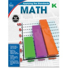 CDP 104845 Carson Grade K Applying the Standards Math Workbk CDP104845