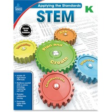 CDP 104846 Carson Grade K Applying the Standards STEM Workbk CDP104846