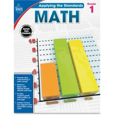 CDP 104847 Carson Grade 1 Applying Standards Math Workbook CDP104847