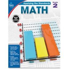 CDP 104848 Carson Grade 2 Applying Standards Math Workbook CDP104848