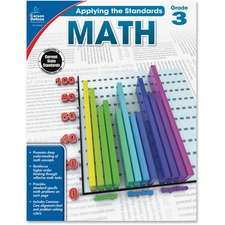 CDP 104849 Carson Grade 2 Applying the Standards Math Workbk CDP104849