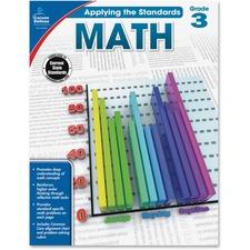CDP 104849 Carson Grade 2 Applying Standards Math Workbook CDP104849