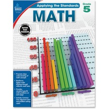 CDP 104851 Carson Grade 5 Applying the Standards Math Workbk CDP104851