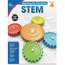 CDP 104855 Carson Grade 4 Applying the Standards STEM Workbk CDP104855