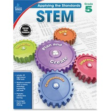 CDP 104856 Carson Grade 5 Applying the Standards STEM Workbk CDP104856