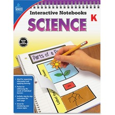 CDP 104904 Carson Grade K Science Interactive Notebook CDP104904