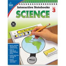 CDP 104907 Carson Grade 3 Science Interactive Notebook CDP104907