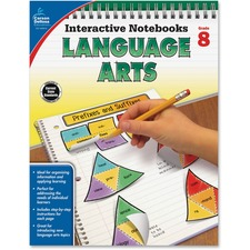 CDP 104915 Carson Grade 8 Language Arts Interactive Notebook CDP104915