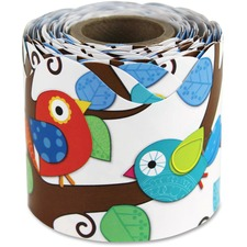 Carson-Dellosa Boho Birds Scalloped Border