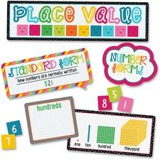 CDP 110331 Carson School Pop Place Val Mini Bulletin Brd Set CDP110331