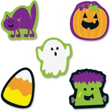 CDP120179 - Carson-Dellosa Halloween Mini Cut-outs