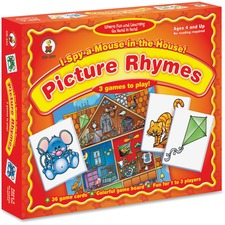 CDP 3111 Carson I Spy a Mouse in the House Matching Game CDP3111