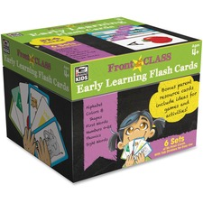 CDP 734062 Carson Early Learning Flash Cards CDP734062