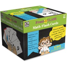 CDP 734063 Carson Grades PreK-3 Math Flash Cards CDP734063