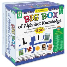 CDP 840015 Carson Big Box of Alphabet Knowledge Board Game CDP840015