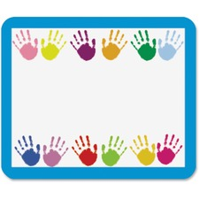 CDP 9413 Carson Grades PreK-5 Handprints Name Tags CDP9413