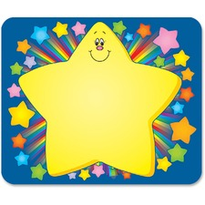 CDP 9421 Carson Grades PreK-5 Rainbow Star Name Tags CDP9421