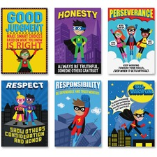 CTC 5649 Creative Teaching Press Superhero InspireU Posters CTC5649