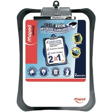 HLX 350210 Helix Two-in-one Dry Eraser Clipboard HLX350210