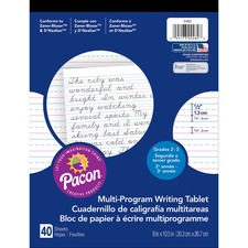 PAC 2482 Pacon Multi-program Handwriting Tablet PAC2482