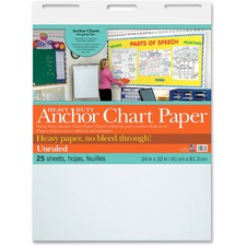 PAC 3371 Pacon Heavy Duty Anchor Chart Paper PAC3371