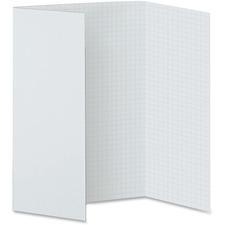 PAC 3888 Pacon Tri-fold 28x22 Foam Presentation Board PAC3888