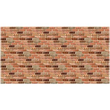 PAC 57465 Pacon Reclaimed Brick Design Fadeless Paper PAC57465