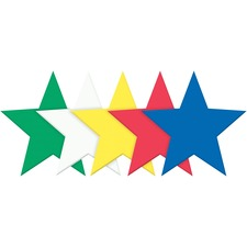 PAC AC4334 Pacon Wonderfoam Large Foam Star Shapes PACAC4334