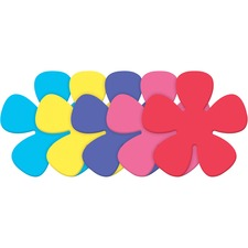 PAC AC4339 Pacon Wonderfoam Large Foam Flower Shapes PACAC4339
