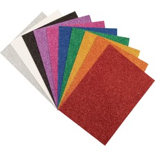 PAC AC4344 Pacon 9x12 Wonderfoam Glitter Sheets PACAC4344
