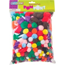 PAC AC815001 Pacon Creativity Street Pom Pons Class Pack PACAC815001
