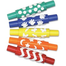 PAC AC9085 Pacon Set B Foam Pattern Rolling Pins PACAC9085