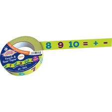 PAC AC9317 Pacon Mind Sparks Teach And Tear Math Tape PACAC9317