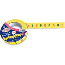 PAC AC9318 Pacon Mind Sparks Teach And Tear Alphabet Tape PACAC9318