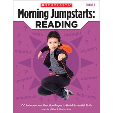 SHS 0545464226 Scholastic Res. Grade 3 Jump Starts Reading Book SHS0545464226