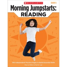 SHS 0545464250 Scholastic Res. Grade 6 Jump Starts Reading Book SHS0545464250