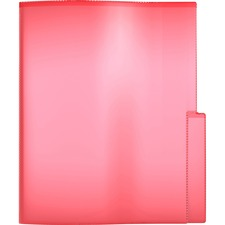 """QuickFit Letter Project File - 8 1/2"""" x 11"""" - 2 Internal Pocket(s) - Red - 5 / Pack"""