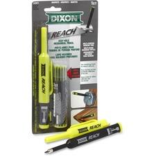 Dixon REACH Mechanical Pencil - 2.9 mm Lead Diameter - Refillable - Black Lead - Plastic Barrel - 2 / Pack
