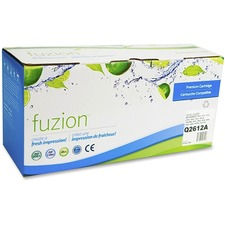 fuzion Toner Cartridge - Alternative for HP 12A - Black - Laser - 2000 Pages - 1 Each