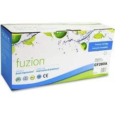 fuzion Toner Cartridge - Alternative for HP 80A - Black - Laser - 2700 Pages - 1 Each