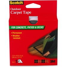 "Scotch Mounting Tape - 1.38"" (34.9 mm) Width x 13.3 yd (12.2 m) Length - Heavy Duty - 1 Roll"