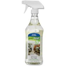 Eco Mist Solutions Multipurpose Cleaner - Liquid - 27.9 fl oz (0.9 quart) - 1 Each