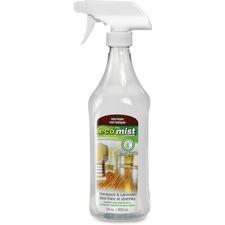 Eco Mist Solutions Hardwood and Laminate Cleaner - Liquid - 27.9 fl oz (0.9 quart) - 1 Each
