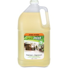 Eco Mist Solutions Degreaser - Liquid - 3.78 L - 1 Each