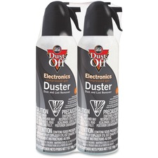 Falcon Jumbo Dust-Off Electronics Duster - For Electronic Equipment - 198.4 g - Disposable - 2 / Pack