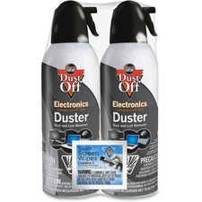 Dust-Off Computer Dusters - For Electronic Equipment, Desktop Computer, Notebook - 2 / Pack