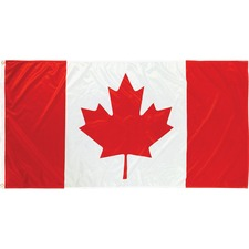"Flying Colours International National Flag - Canada - 72"" x 36"" - Durable - Polyester"